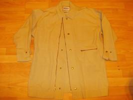 Khaki long sleeve cotton jacket Light Brown long sleeve cotton jacket co... - $17.09