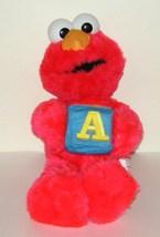 1/2 off! Nanco Elmo Alphabet Block A Sesame Street Plush - $6.00
