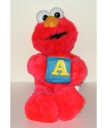 1/2 off! Nanco Elmo Alphabet Block A Sesame Street Plush - $6.00