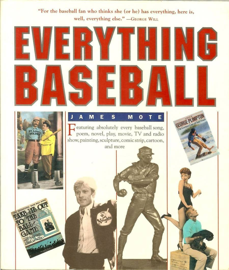 Primary image for everything baseball book by james mote first edition