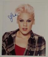 Pink Alecia Moore Hand Signed 8x10 Photo COA P!nk Autograph - $79.99