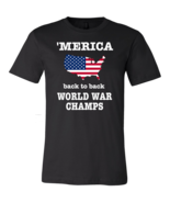 Country Strong Merica Tshirt Patriotic Shirt USA Fourth Of July Shirt Ve... - $17.38