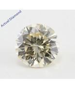 Round Cut Loose Diamond (1 Ct, Natural Light Fancy Brown , SI2 ) IGL - $1,821.02