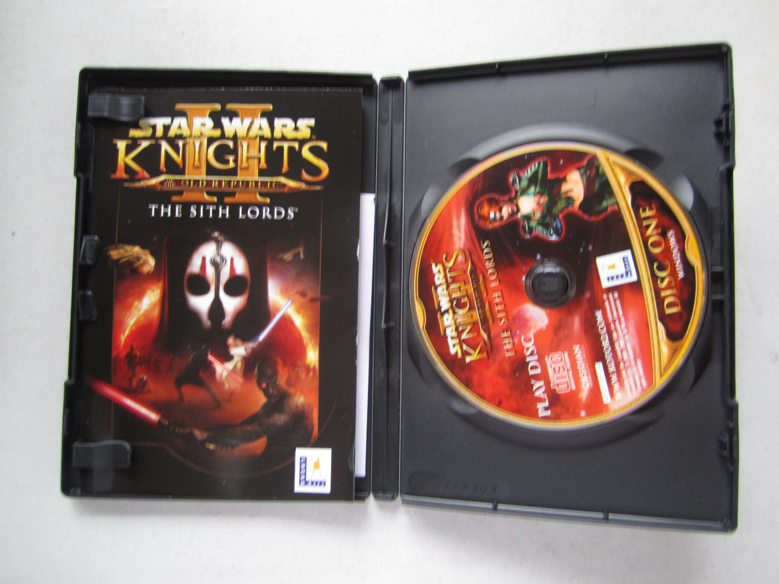 Star Wars: Knights of the Old Republic II - The Sith Lords (PC, 2005) FREE SHIP