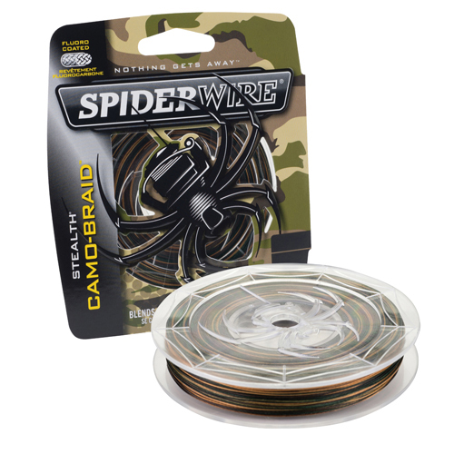 SCS50C-300 Stealth-Braid Fishing Line 50LB 300YD CAMO