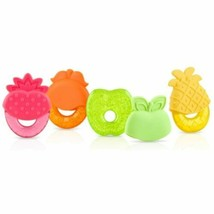 Nuby IcyBite Fruit Shaped Teether, Colors May Vary - $8.90