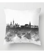Throw Pillow Case Cushion cover Made USA Design 106 Grayscale City LDumas - $29.99+