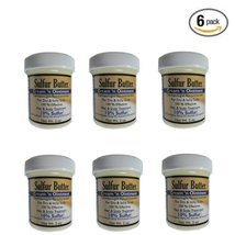 6 Pack - Sulfur Ointment - Sulfur Butter Creme 'N Ointment - $24.50