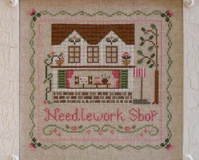 The Needlework Shop cross stitch chart Country Cottage Needleworks