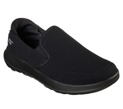 55399 Black Skechers shoes On The Go Walk Men Sporty Casual Comfort Slip... - $49.78