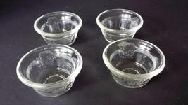Vintage McKee Glasbake 286 (4) Clear Custard Cu... - $18.68