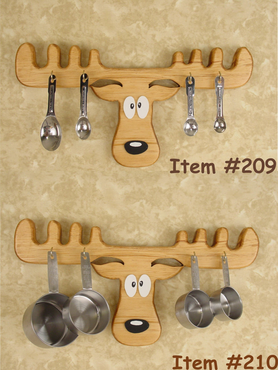 Measure Cups Holder - Moose