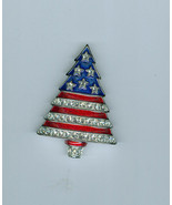 Radko Americas Tree Christmas Tree Pin Brooch O... - $59.99