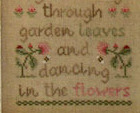 Ladybugs and Bumblebees cross stitch chart Country Cottage Needleworks