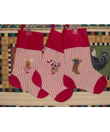 Christmas stockings - $25.00