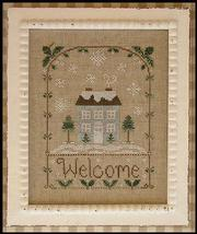 Winter Welcome holiday cross stitch chart Country Cottage Needleworks - $7.20