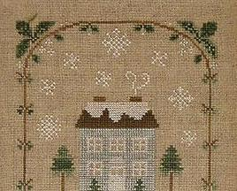 Winter Welcome holiday cross stitch chart Country Cottage Needleworks
