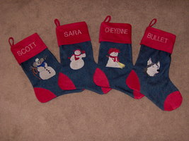 Christmas Stocking - $25.00
