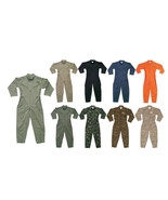 Military Flight Suit Camo Work Coveralls Air Force Overalls Utility Jump... - $53.99+