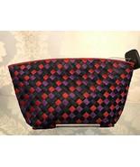 BOTTEGA VENETA Red, Purple & Black Ribbon Intrecciato Clutch/Pouch $ - $335.51