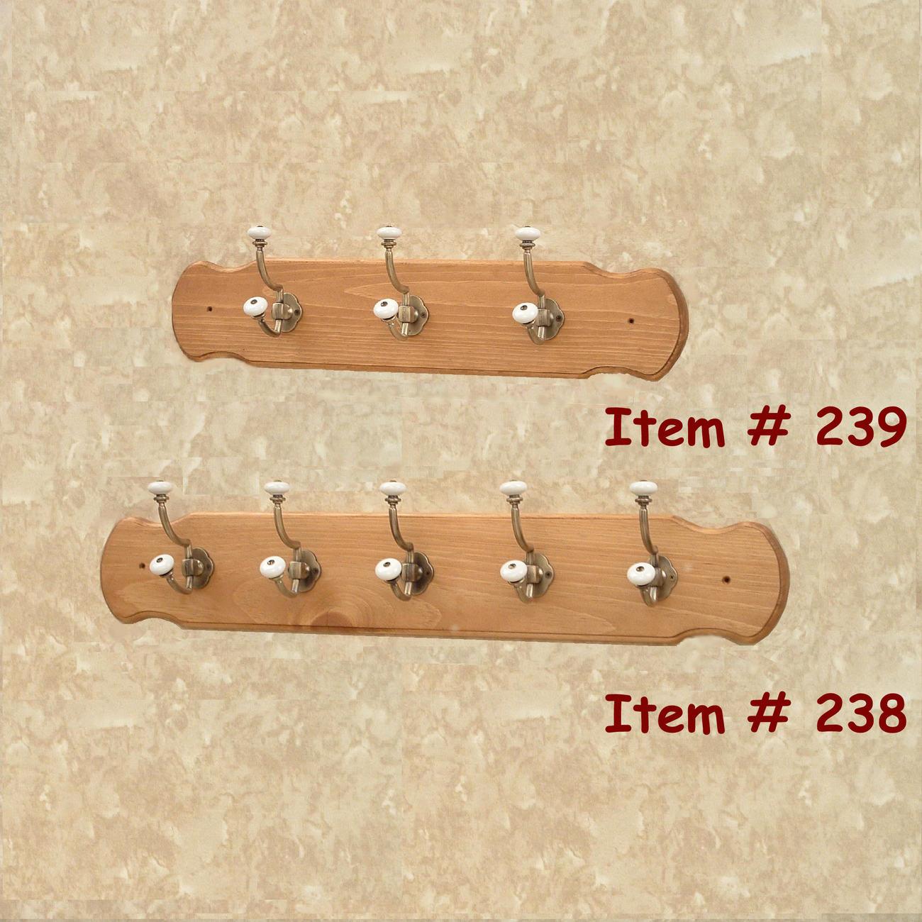 Peg Rack, Coat Racks - Handmade