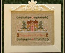 Gingerbread Cottage holiday cross stitch chart Country Cottage Needleworks - $7.20