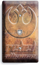 STAR WARS REBEL ALLIANCE JEDI ORDER PHONE TELEPHONE WALL PLATE ROOM HOME... - $9.89