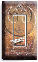 STAR WARS REBEL ALLIANCE JEDI ORDER SINGLE GFI LIGHT SWITCH WALL PLATE A... - $11.99