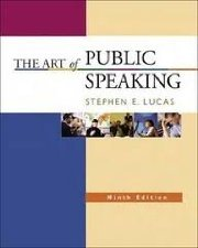 The Art of Public Speaking,   by Lucas