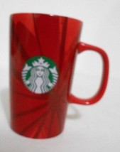 Starbucks Coffee Mug Christmas Blend Beans 30th Anniversary 2014 Red Cup... - $15.64