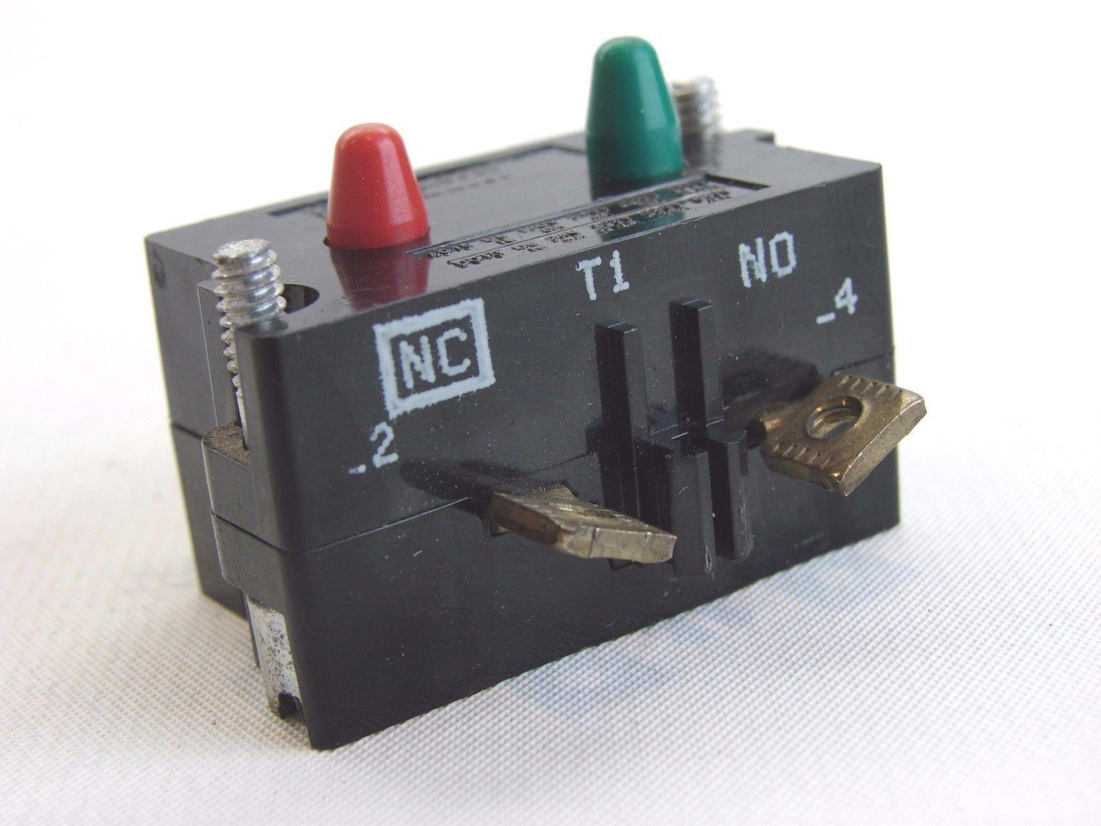 1 N.C. Cutler Hammer 10250T1 Eaton Contact Block 10250T//91000T 1 N.O