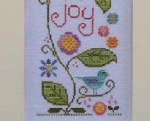 Joyful Summer cross stitch chart Country Cottage Needleworks