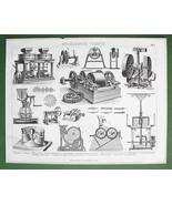 MILLS Various Types Millstones Milling Machines... - $14.84