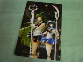 Sailor Moon  Manga  jumbo card plastic pencil board Pluto Saturn - $18.98