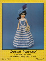 Penelope, Td Creations Crochet Doll Clothes Pattern Booklet PRE-772 - $3.95