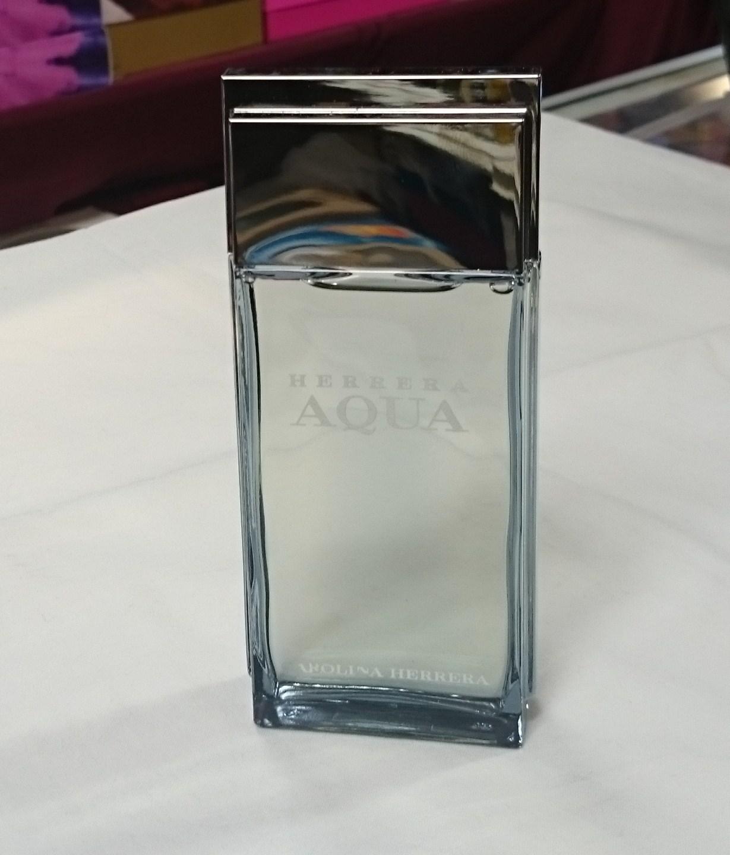 Herrera Aqua by Carolina Herrera for Men  3.3 fl.oz / 100 ml  After Shave Splash