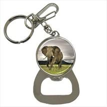 Safari Elephant Bottle Opener Keychain - $6.74