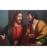 BIBLE Christ & Matthew's Appeal by Pordenone - ... - $37.62