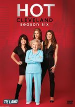 Hot in cleveland the complete sixth season 6  dvd 2016 3 disc set  betty white thumb200