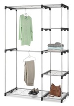 Whitmor  6779-3044  Double Rod Closet, Silver -... - $58.26