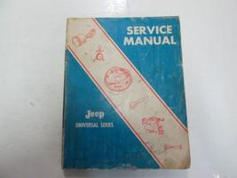 1976 Jeep Universal Series 4WD 2WD CJ 3B 5A 5 6 6A DJ 5 6 Service Shop M... - $98.99