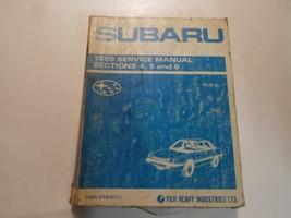 1989 Subaru 1800 Sections 4,5 and 6 Service Repair Shop Manual WATER DAM... - $26.68