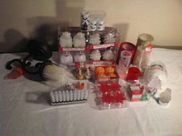 47pc Flameless Candle Lot Multi-holiday Holloween Christmas - $34.64