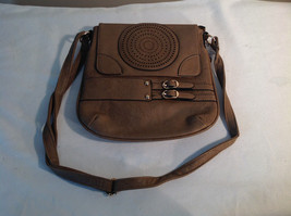 Light Brown Mad Style Shoulder Handbag Pocketbook Purse