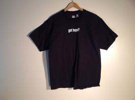 Hanes XL t-shirt Got Hope? Hearts of Hope Black Cotton Custom