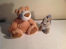 Lot of 2 Stuffed animals - Big Bear + Squirrel NWT