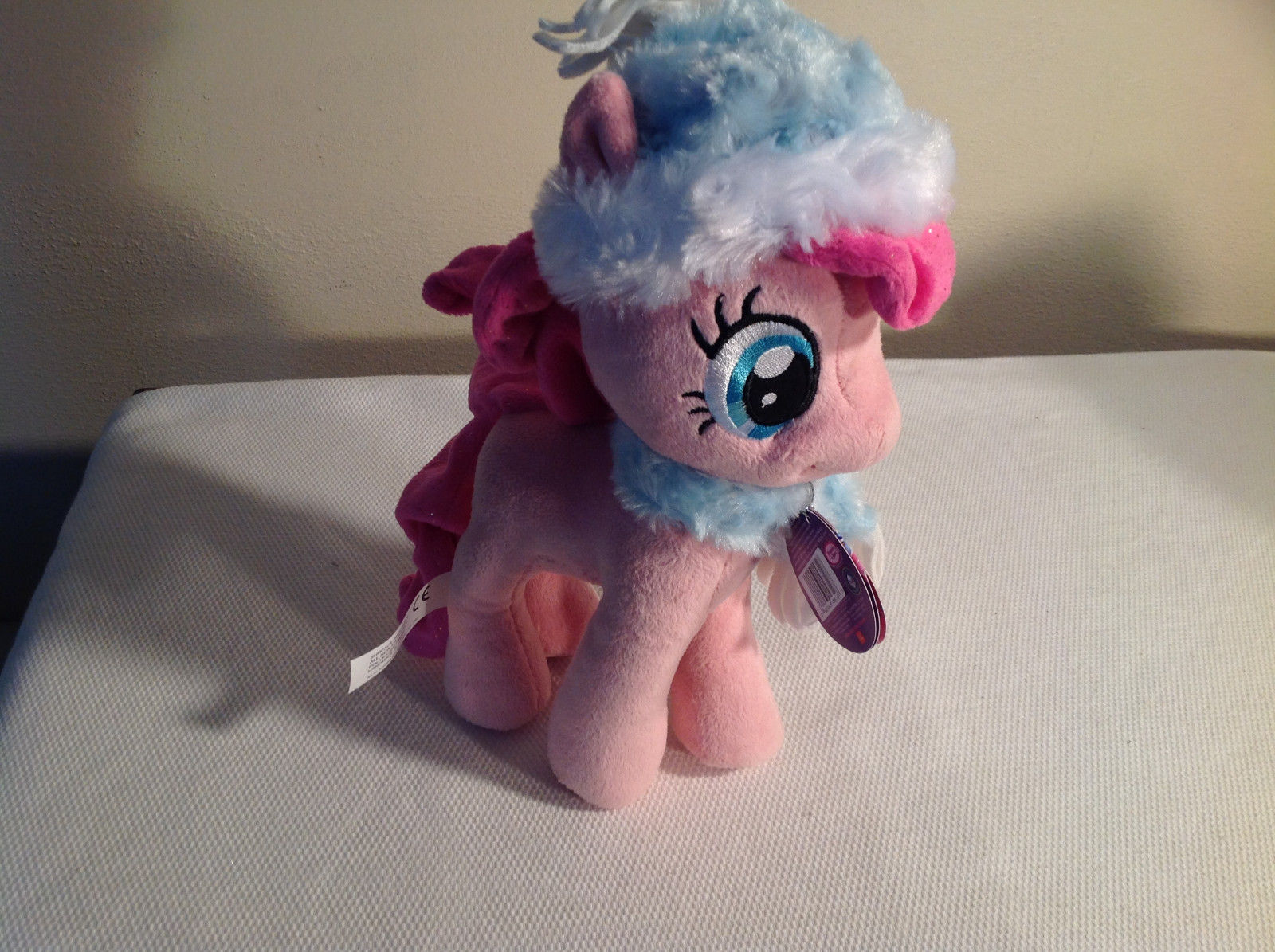 My Little Pony Pinkie Pie Plush Doll NEW Light Blue Hat