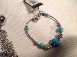 Set of 3 Dangling Jewellery Piece - Necklace, Earrings, Bracelet image 6