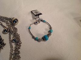 Set of 3 Dangling Jewellery Piece - Necklace, Earrings, Bracelet image 3