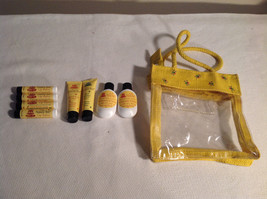 The Naked Bee Gift Lot - Lip Balm, Hand + Body Lotion, Hand Sanitizer, Case